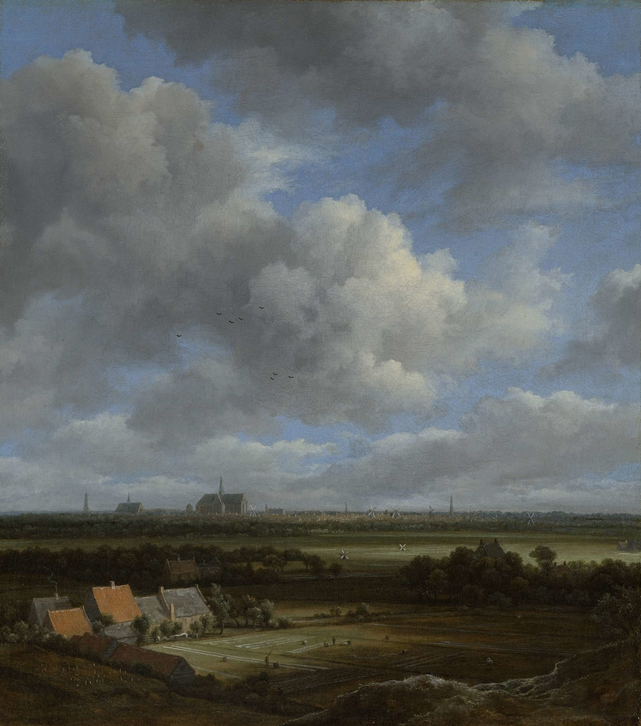 View of Haarlem from the Northwest, with the Bleaching Fields in the Foreground