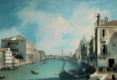 View of the Grand Canal from Campo San Vio
