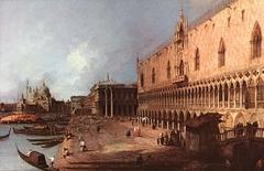 View of the Molo, Venice
