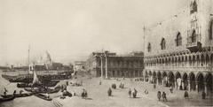 View of the Piazzetta from the Riva de' Schiavoni