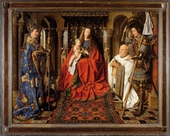 Virgin and Child with Canon van der Paele