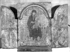 Virgin and Child, with Scenes from the Lives of Christ and Saint Francis