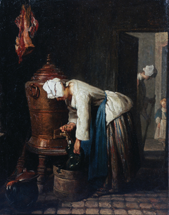 Woman Drawing Water at the Cistern