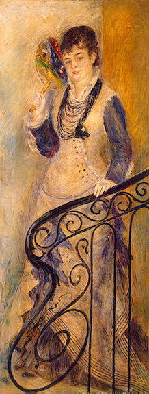 Woman on a Staircase