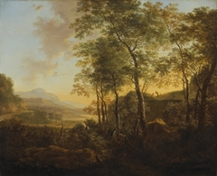 Wooded Hillside with a Vista