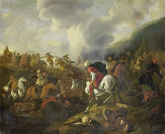 A Cavalry Encounter between Turkish Troops and the Troops of the Austrian Emperor