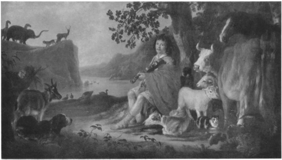 A musician as Orpheus, possibly a Self-portrait