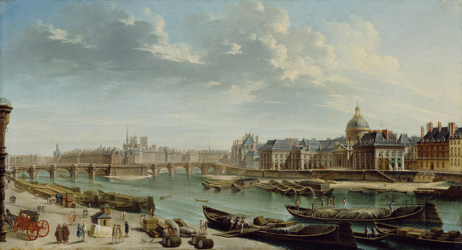 A View of Paris with the Île de la Cité