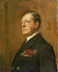 Admiral of the Fleet Sir David Beatty, 1st Earl Beatty, 1871-1936