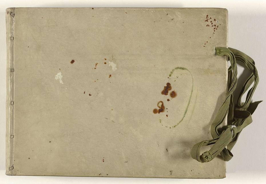 Album met 117 tekeningen, hoofdzakelijk, portretten, vervaardigd op Ceylon