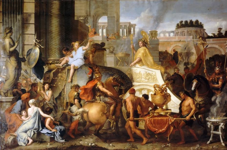 Alexander Entering Babylon, or The Triumph of Alexander