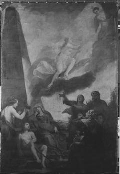 Allegorie auf den Tod einer Fürstin