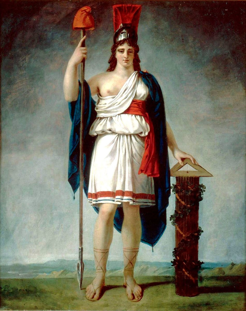 Allegory of the first French Republic