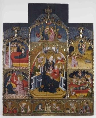 Altarpiece of the VINSEUM Virgin