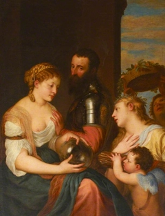 An Allegory of Marriage (in Honour of Alfonso d'Avalos, Marchese del Pescara and del Vasto (Guasto) (1502-1546) in 1523)