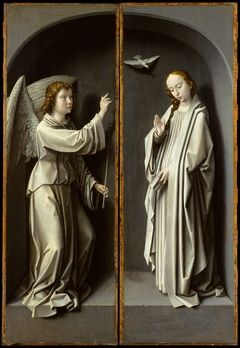 Archangel Gabriel; The Virgin Annunciate