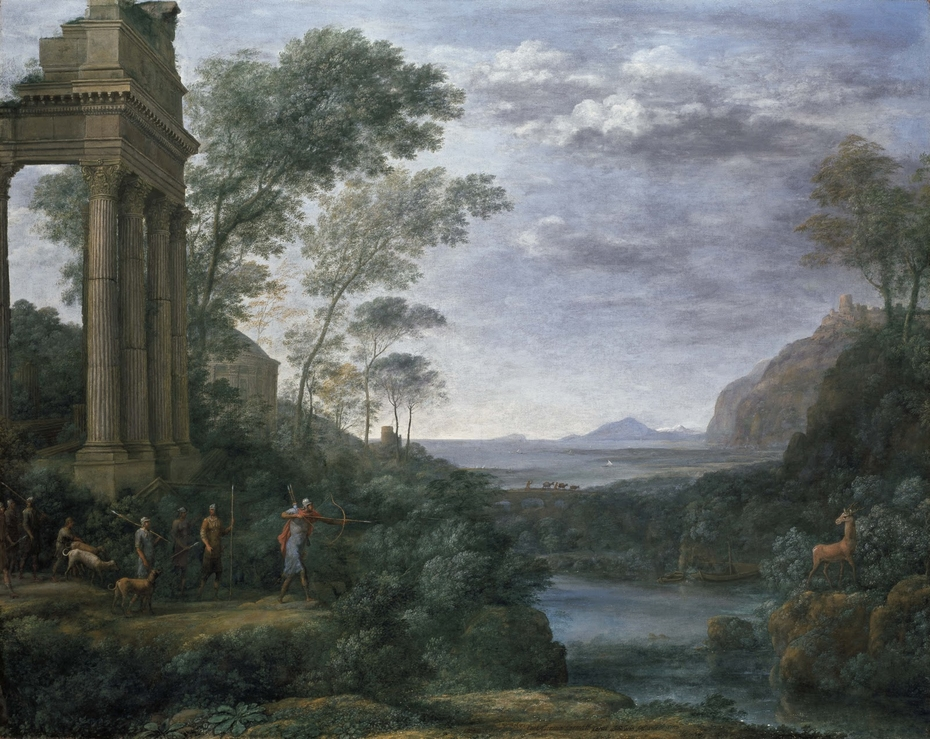 Ascanius Shooting the Stag of Sylvia