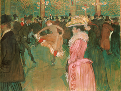 At the Moulin Rouge: The Dance