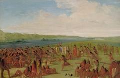 Ball-play of the Women, Prairie du Chien