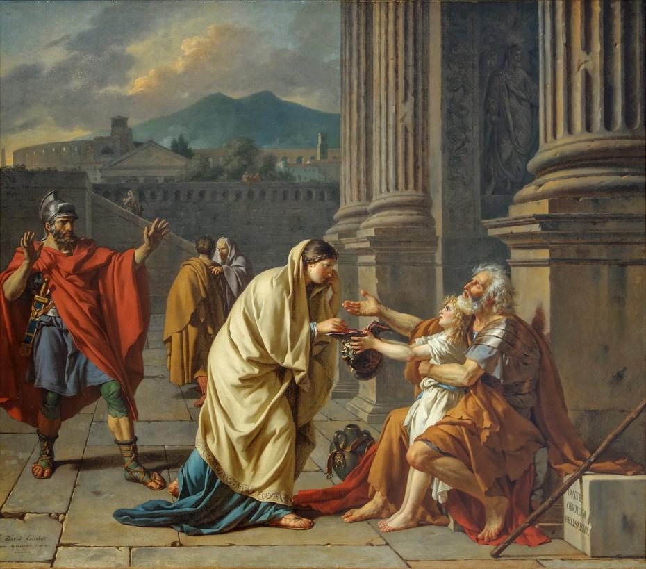 Belisarius Begging for Alms (1784)