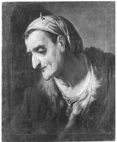 Bildnis einer alten Frau (?)