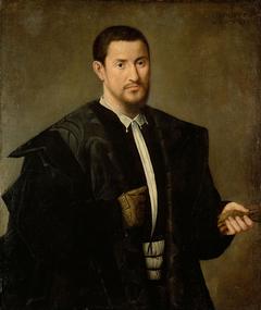 Bildnis eines barhäuptigen Mannes