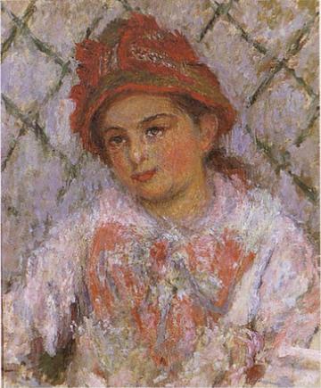 Blanche Hoschedé as a Child