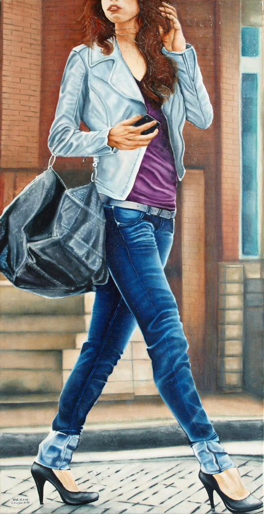 """""""BLUE JEANS""""- From the series """"The Street"""""""