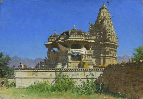 Brahmi temple in Udaipur