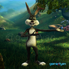 Bunny – 3D Cartoon Character Modeling by Gameyan Game Development Studio