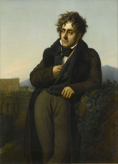Chateaubriand Meditating on the Ruins of Rome