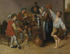 Children Playing and Merrymaking