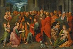 Christ among children