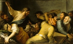Christ expelling the Money Changers from the Temple