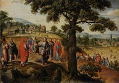 Christus verteidigt das Ährenausraufen am Sabbath (August)