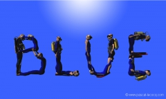 COLOR PROJECT: BLUE,  by Pascal