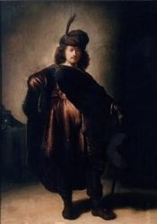 Copy of Self-portrait in Oriental Dress