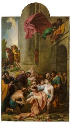 Devout Men Taking the Body of Saint Stephen