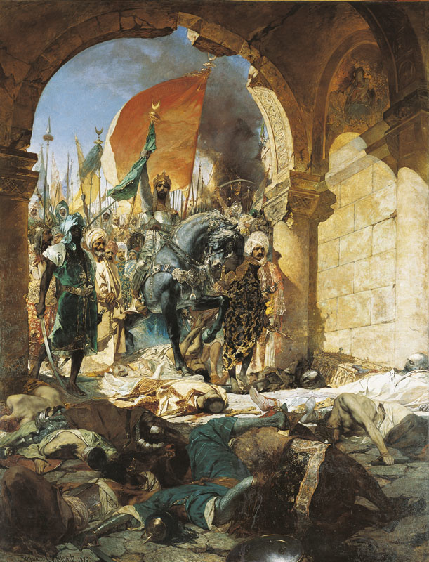 Entry of Sultan Mehmed II in Constantinople