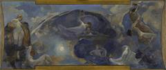 Esquisse pour le Petit Palais, galerie sud : Poésie - Drame