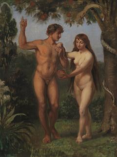Eve Tempts Adam