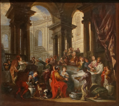 Feast Given under an Ionian Porch