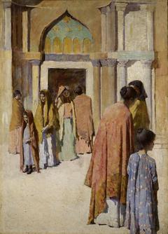Femmes pres des Escaliers no. I
