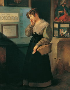 Girl at the Lottery