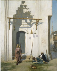 Guards at the Door of a Tomb