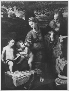 Heilige Familie unter der Eiche (Kopie nach)