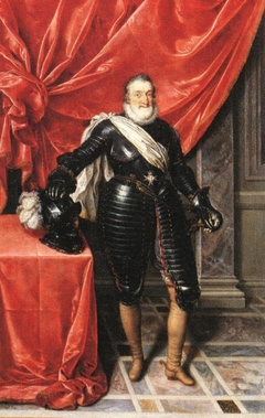 Henry IV, King of France in Armour