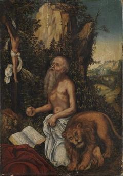 Hl. Hieronymus als Büßer (Schule)