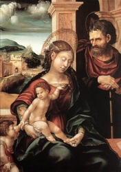 Holy Family with Child St. John