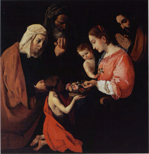 Holy Family with Saint John the Baptist as a Child and His Parents